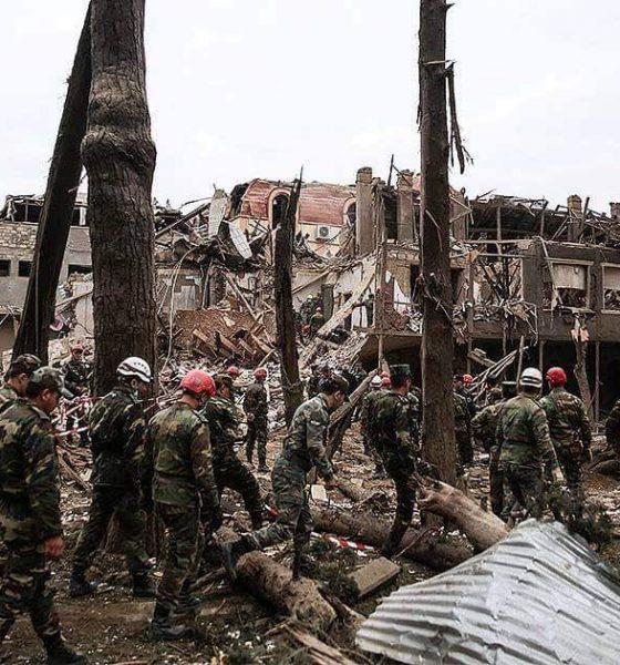 Serangan Armenia di Kota Ganja, Kota terbesar kedua di Azerbaijan