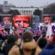 Keributan di Capitol. The Associated Press/John Minchillo