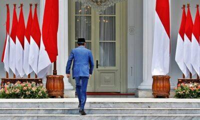 Jokowi Masuk Istana