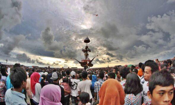 Pesta Tabuik Kota Pariaman. FILE/Hantaran